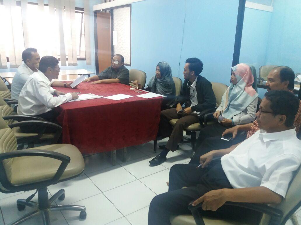 Jurusan MPI bersama Pengelola Jurnal Idaarah adakan Rapat persiapan Penerbitan